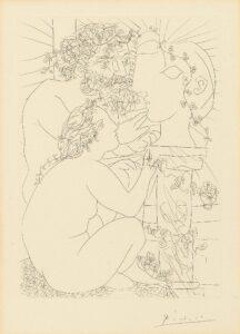 Pablo Picasso, 1933, Blanton Museum of Art ©Picasso Administration, Paris, France